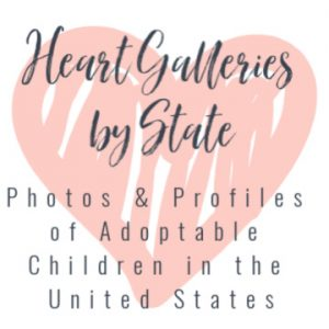 Heart Galleries by State, Adoptable Children